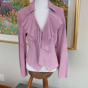 IDEOLOGY SUEDE JACKET NWT!